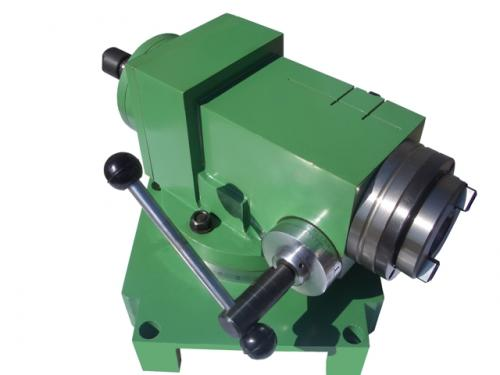 Vertical milling head